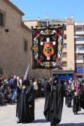 La Hermandad de Ciudad Real retira un estandarte vejatorio tras la petición del obispado