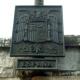 Reabierto el debate sobre el escudo del puente de Santiago (Zaragoza)