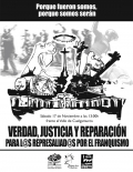 """Concentración """"Verdad, Justicia y Reparación para las víctimas del franquismo"""", en el Valle de Los Caídos"""