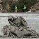 Inexorable deterioro de las esculturas del Valle de los Caídos, según un estudio del Museo de Ciencias