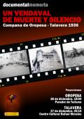 """Presentación del Documental """"Un vendaval de muerte y silencio. Campana de Oropesa-Talavera, 1936″, del Foro por la Memoria de Toledo"""
