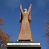 La estatua de La Pasionaria en el centro de Glasgow