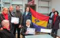 Entrega de Diploma a los familiares de Canuto Pedro Marcos Centenera