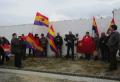 Homenaje a las víctimas del franquismo en la Fosa común del Cementerio de Úbeda (Jaén)