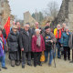Los Foros por la Memoria visitan el pueblo mártir de Oradour y expresan su solidaridad con Robert Hébras