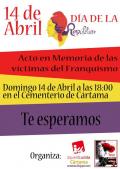Cártama (Málaga): acto en memoria de las víctimas del franquismo