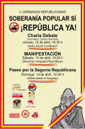 V Jornadas republicanas en Segovia
