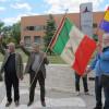 Visita de AICVAS y ANPI al Monumento a las Brigadas Internacionales