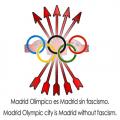 """El Comité Olímpico Internacional recibe el dossier de la campaña """"Madrid limpio es Madrid sin fascismo"""""""