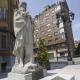 Oviedo volverá a lucir la estatua de un teniente coronel franquista