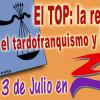 """Acto informativo y debate: """"El TOP. La represión en el tardofranquismo y la transición"""""""