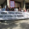 Concentración en apoyo a Gerardo Rivas, el periodista imputado por una querella de Falange
