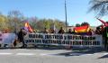 """Concentración """"Verdad, Justicia y Reparación"""" en el Valle de los Caídos"""