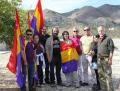 Homenaje a los asesinados en el castillo de Álora por el franquismo