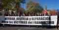 """""""No a la impunidad franquista. Cese del Comisario Reglero"""""""