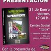 """Presentación del libro autobiográfico de Felipe Matarranz """"Manuscrito de un superviviente"""""""