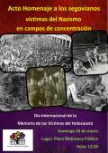 Acto de Homenaje a los segovianos víctimas del Nazismo en campos de concentración