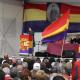 Alicante: Rojo, amarillo y morado para recordar a los exiliados del Stanbrook