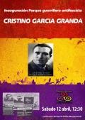 Inauguración de la Plaza al guerrillero antifascista Cristino García Granda