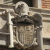 Vecinos de Patraix (Valencia) piden la retirada de un escudo inconstitucional de la Comandancia de la Guardia Civil