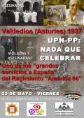 Famyr, Ahaztuak 1936-1977 y otras organizaciones piden un pronunciamiento de las instituciones asturianas contra el homenaje a las brigadas navarras