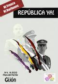 ¡Ni Franco ni Borbones: República ya!
