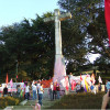 Postura das unións comarcais de Vigo de CCOO, CIG e UGT sobre a cruz do Castro