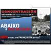 Vigo: Concentración na Cruz do Castro