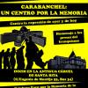 """Manifestación: """"Carabanchel, un centro por la Memoria. Contra la represión de ayer y de hoy"""""""