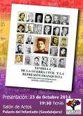 """Presentación en Guadalajara del libro de Conchi de Luz """"Tendilla, de la guerra civil y la represión franquista"""""""