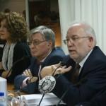 El rector de la Complutense, Carlos Berzosa, durante su intervencion(2)