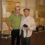 Santiago Vega y Julio Aróstegui