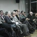 Un aspecto del publico. Al fondo Almudena Grandes y José Antonio Martin Pallin.