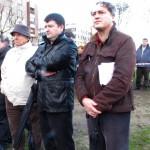 CORUÑA O múseco Xurxo Souto e o poeta Manuel Rivas