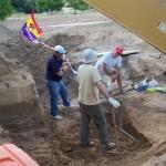 La Toba Agosto 2011_en la fosa
