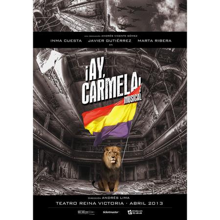 cartel-ay-carmela-musical-en-el-teatro-reina-victoria