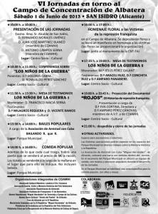 PROGRAMA VI JORNADAS.