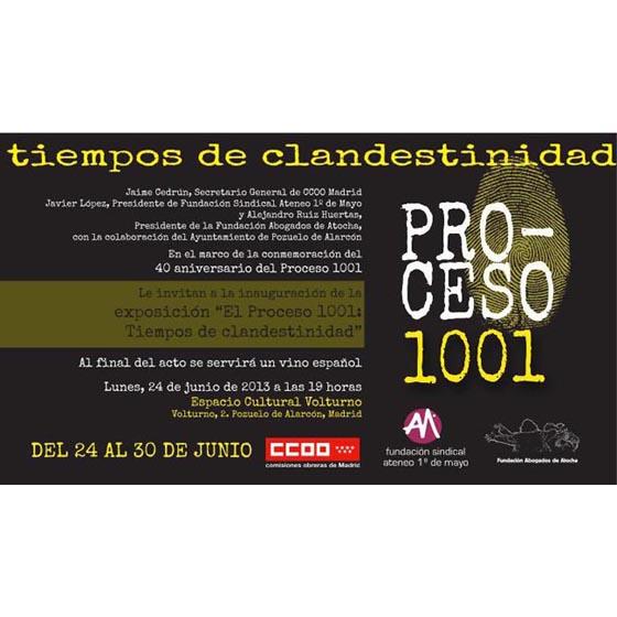 Invitación Proceso 1001 Pozuelo