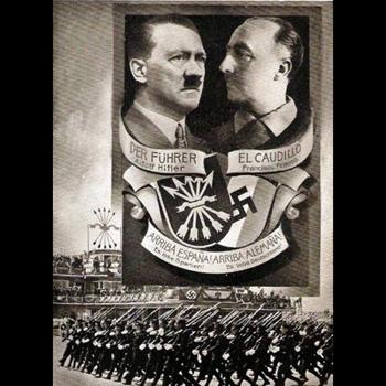 Franco y Hitler los dos mayores hijos de puta