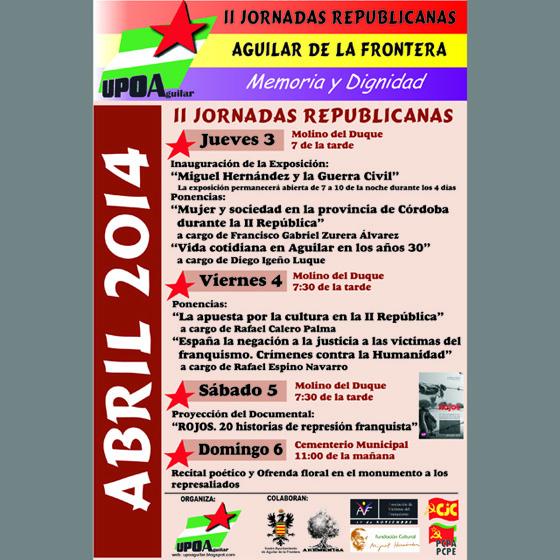 Jornadas Aguilar de la Frontera