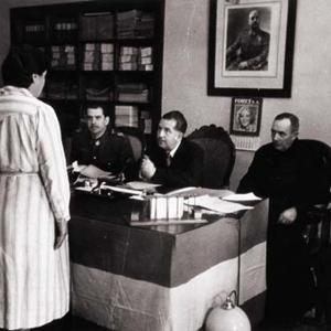 monjas, curam, falangista, militar, Barcelona