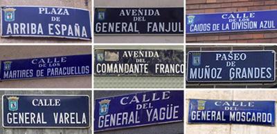 callejero de calles de madrid: