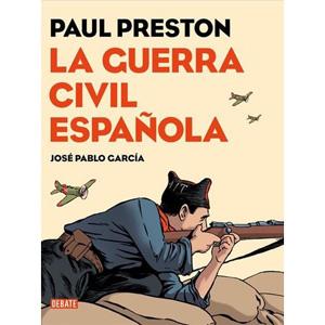 ICULT LIBROS portada comic La guerra civil Paul Preston dibujante Jose Pablo Garcia